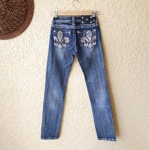 Miss me skinny jeans nwt girls sz 12